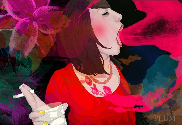 party-girl-bertrand-illustrations