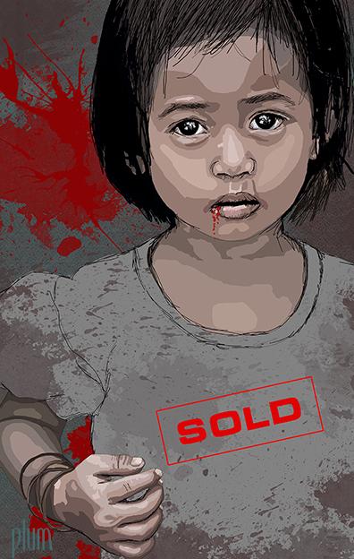 sold-girl-justyna-bertrand-illustration